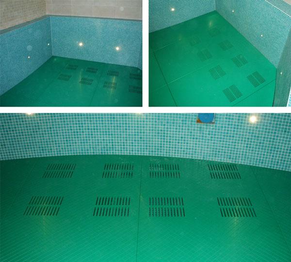Swimming Pool Depth Reducing False Floors